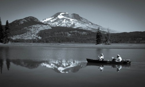 Zdjecie USA / Oregon / Jezioro Hosmer / bez tytulu