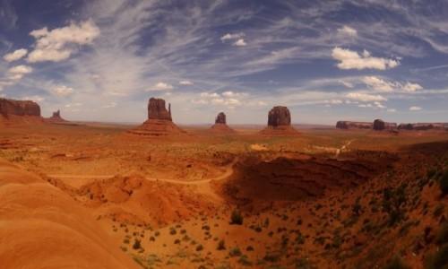 Zdjecie USA / Arizona/Utah / Monuments Valley / Monuments - od zawsze chciałem tam być, no i proszę :-))