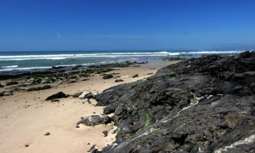 Zdjecie USA / Kalifornia / Santa Barbara County / Carpinteria - asfaltowa plaża
