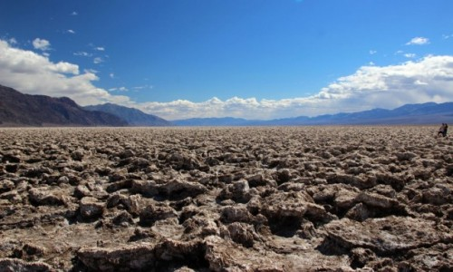 Zdjecie USA / Kalifornia / Dolina Smierci / Diabelskie Pole Golfowe