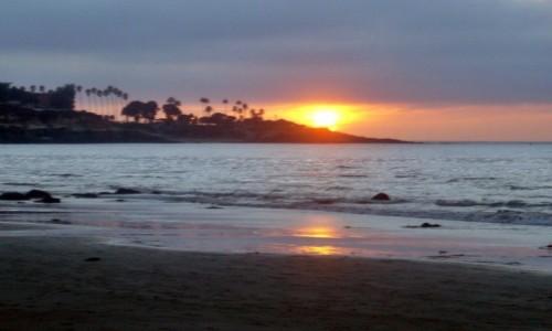 Zdjecie USA / Kalifornia / San Diego / Zach�d s�o�ca