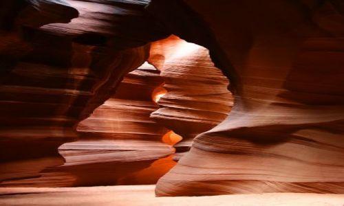 Zdjecie USA / Utah / niedaleko Page / Antelope Canion