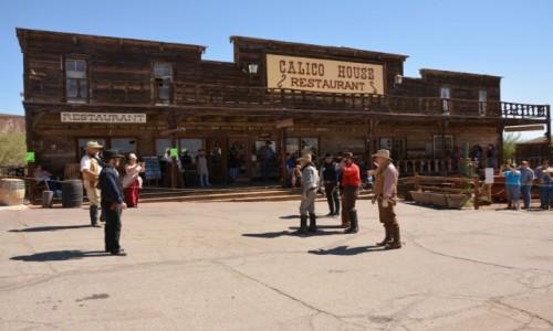 Zdjecie USA / Kalifornia / Calico Ghost Town / w samo południe