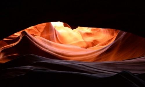 USA / Arizona /  rezerwat plemienia Nawaho / Kanion Antylopy