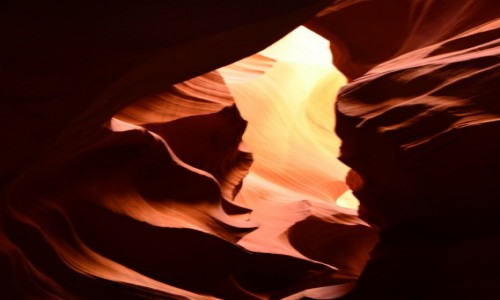 Zdjecie USA / Arizona / Kanion Antylopy / zakręcony