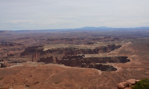 USA / Utah / Park Narodowy Canyonlands / jak ślad dinozaura...