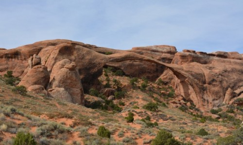 USA / Utah / Arches National Park / Landscape Arch