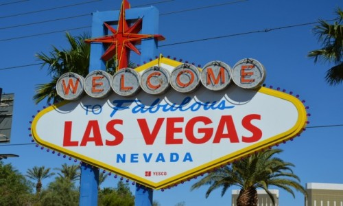 USA / Nevada / Las Vegas / welcome