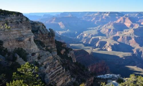 USA / Arizona / Park Narodowy Wielkiego Kanionu / nad Wielkim Kanionem
