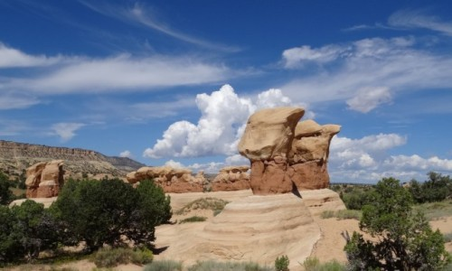 Zdjecie USA / Utah / Escalante / Diabelski Ogród w fascynującym Escalante