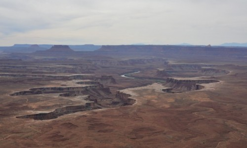 Zdjęcie USA / Utah / Park Narodowy Canyonlands / nieziemski widok