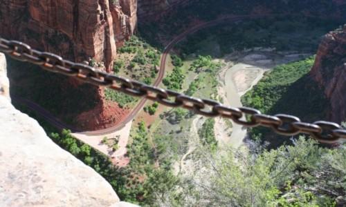 Zdjęcie USA / Utah / Syjon Park Narodowy / Czerwone góry