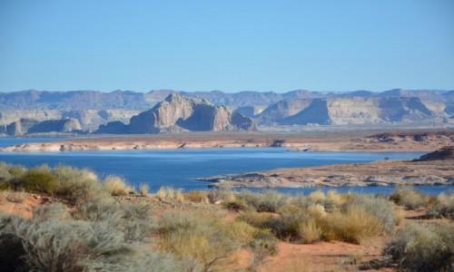 Zdjęcie USA / Utah/Arizona / Lake Powell / najpiękniejszy sztuczny zbiornik wodny na świecie