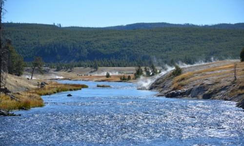 Zdjecie USA / Wyoming - Yellowstone NP / Park Narodowy Yellowstone / w Yellowstone...