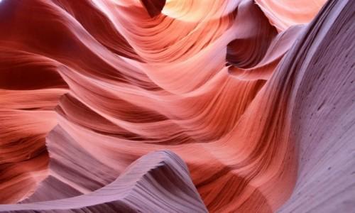 Zdjecie USA / Arizona / Antelope Canyon / Warstwy