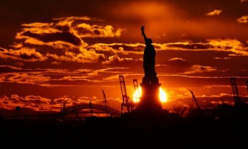 Zdjecie USA / NYC / NYC / Ostatnie promie