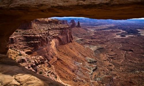 Zdjęcie USA / Utah / Canyonlands National Park / Mesa Arch