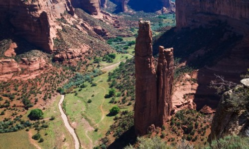 USA / Arizona / Canyon de Chelly / Spider Rock