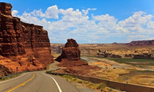 Zdjecie USA /  Utah / Hwy 95 / Droga 95 Utah