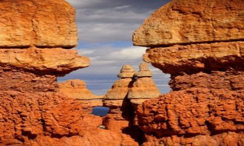 Zdjecie USA / Utah / Bryce Canyon National Park / Krasnoludki