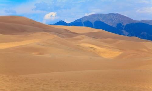 Zdjęcie USA / Colorado / Great Sand Dunes National Park / Great Sand Dunes National Park