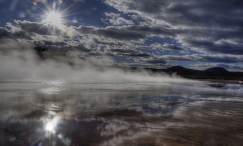 Zdjecie USA / Wyoming  / Yellowstone National Park / Grand Prismatic Spring