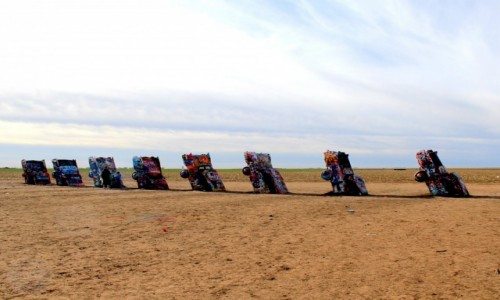Zdjecie USA / Texas / Amarillo  / Cadillac Ranch Texas