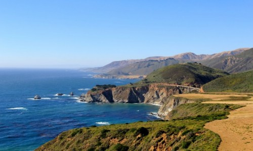 USA / California / California / Californijskie wybrzeze