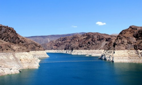 Zdjecie USA / Nevada / Hoover Dam / widok z zapory Hoover Dam