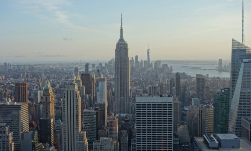 Zdjęcie USA / Nowy Jork / Manhattan / Top of the rock