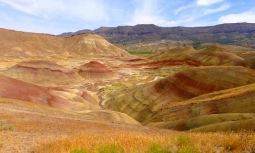 Zdjecie USA / Oregon / Painted Hills / Cud swiata