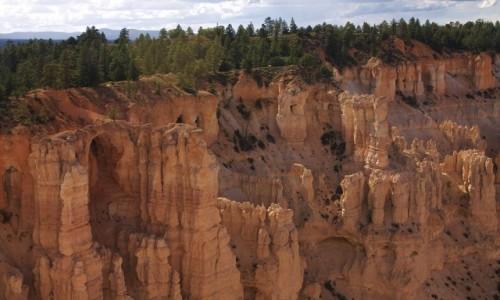 USA / Utah / Bryce Canyon / Piaskowcowe Arkady