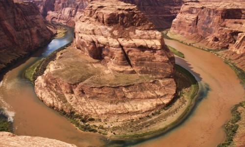 Zdjecie USA / Arizona / Horseshoe Bend / Zaraz po burzy