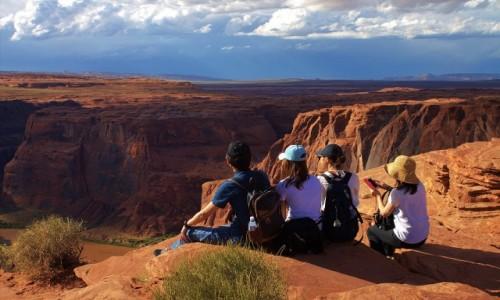 Zdjecie USA / Arizona / Horseshoe Bend / Odpoczynek