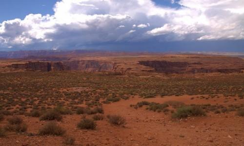 Zdjęcie USA / Arizona / Horseshoe Bend / Koryto rzeki Kolorado