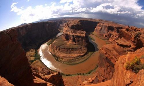 Zdjecie USA / Arizona / Horseshoe Bend / Horseshoe Bend w całości