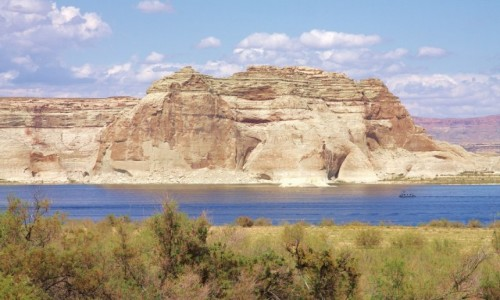 Zdjęcie USA / Arizona / Page / Po drugiej stronie jeziora Powel
