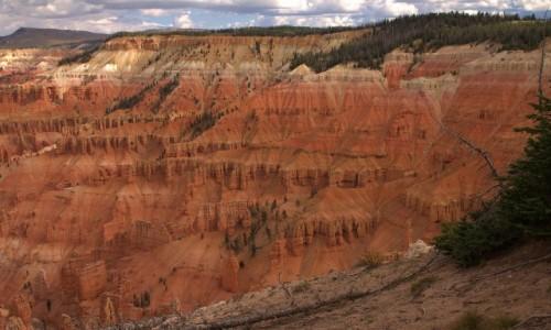 Zdjęcie USA / Utah / Cedar Breaks National Monument / Malutki kanion