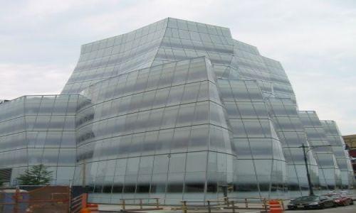 Zdjecie USA / New York / Manhattan / nowy budynek za