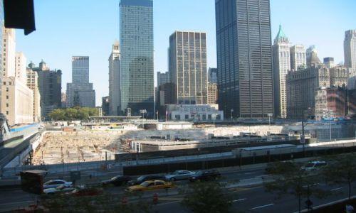 Zdjecie USA / New York / Manhattan / miejsce po WTC