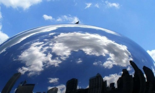 Zdjecie USA / Chicago / Downtown Chicago / Cloud Gate zwana Fasolką