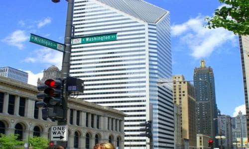 Zdjecie USA / Chicago / Downtown / One way USA