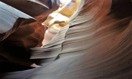 Zdjecie USA / Arizona / Antelope Canyon upper / Najpiękniejszy z kanionów - Antylopa