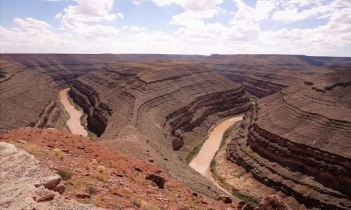 Zdjecie USA / Utah / Goosenecks State Park / Amerykańskie Gęsie Szyje