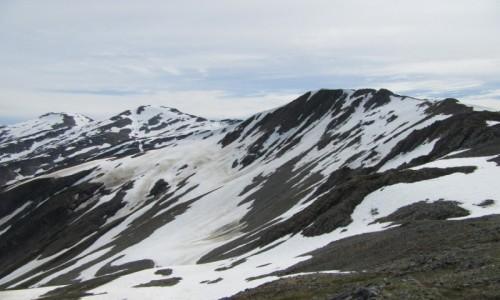 Zdjecie USA / Juneau / Ośnieżone góry / Juneau - stolica stanu Alaska  USA
