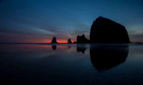 Zdjecie USA / Oregon / Cannon Beach / Haystack Rock