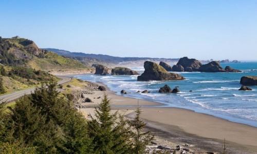 Zdjecie USA / Oregon / gdzies na wybrzezu Pacyfiku / Pacyfik