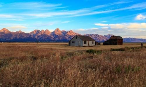 Zdjecie USA / Pln Zachod / Wyoming / Opuszczone