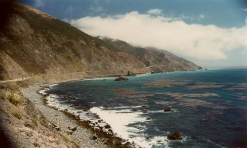Zdjecie USA / Kalifornia / Poludniowa Kalifornia / Highway 1