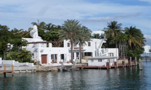 Zdjecie USA / Floryda / Miami / Wyspy Miami, domy najbogatszych ludzi